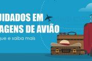 Saiba quais cuidados tomar em viagens de avião durante a pandemia