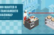 Técnico em Segurança do Trabalho orienta acerca de distanciamento na cozinha