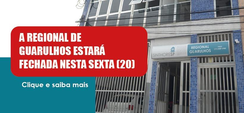 Guarulhos adere feriado e não opera nesta sexta-feira