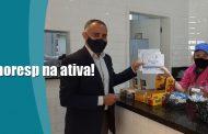 Sinthoresp na ativa: Trabalhadores recebem visita de diretores de subsedes