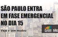 Fase emergencial em São Paulo aumenta restrições para hotelaria e setor de bares e restaurantes