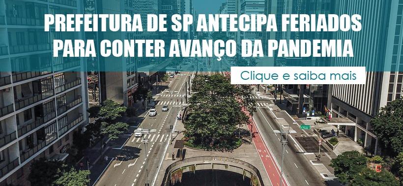 Prefeitura de SP antecipa feriados e altera rodízio de veículos para conter avanço da pandemia