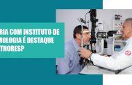 Parceria com Instituto de Oftalmologia é destaque no Sinthoresp