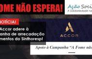 Rede Accor adere à campanha de arrecadação de alimentos do Sinthoresp