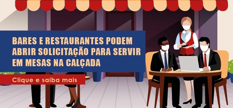 Prefeitura de São Paulo amplia projeto para que bares e restaurantes possam servir nas calçadas