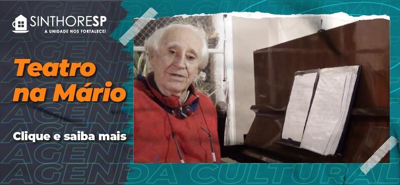 Biblioteca Mário de Andrade oferece programação de peças on-line