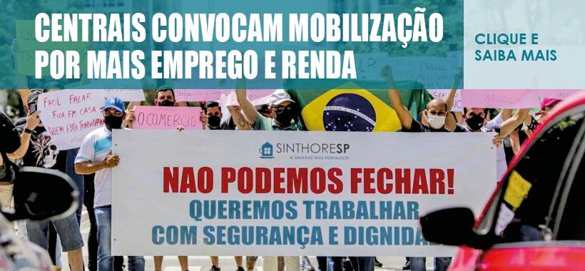 Centrais sindicais convocam mobilização