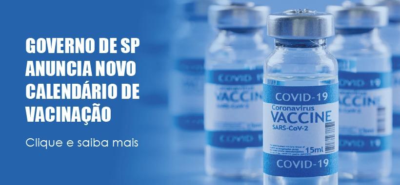 Governo de SP anuncia vacinação para toda a população adulta até agosto