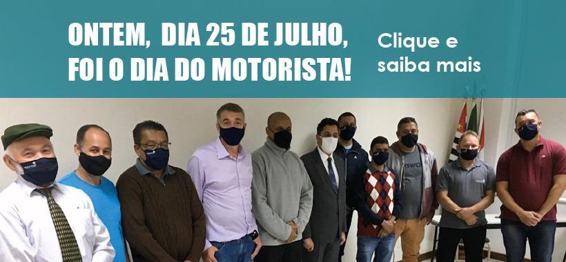Ontem (25) foi Dia do Motorista!