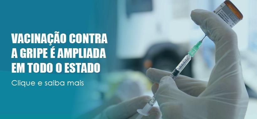Estado de São Paulo amplia vacinação contra gripe para toda a população