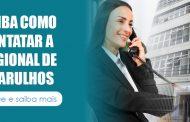 Confira o telefone para contato com a regional de Guarulhos