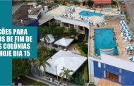 Estão abertas inscrições online para sorteio das colônias de férias