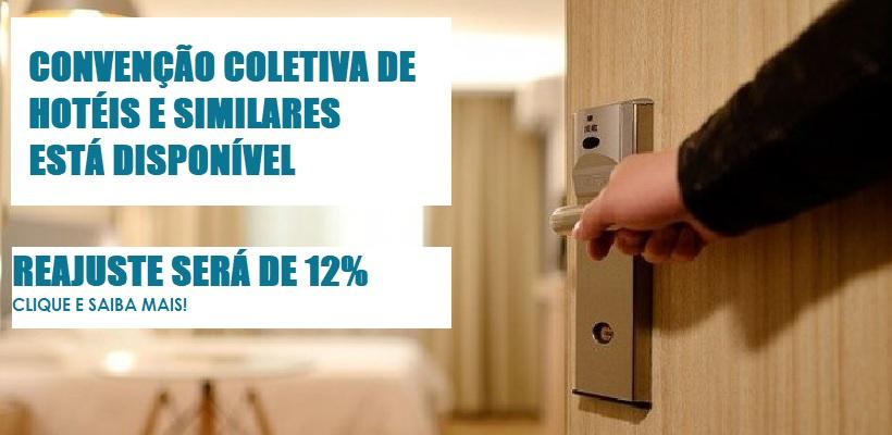 Reajuste salarial para hotéis de SP é de 12%